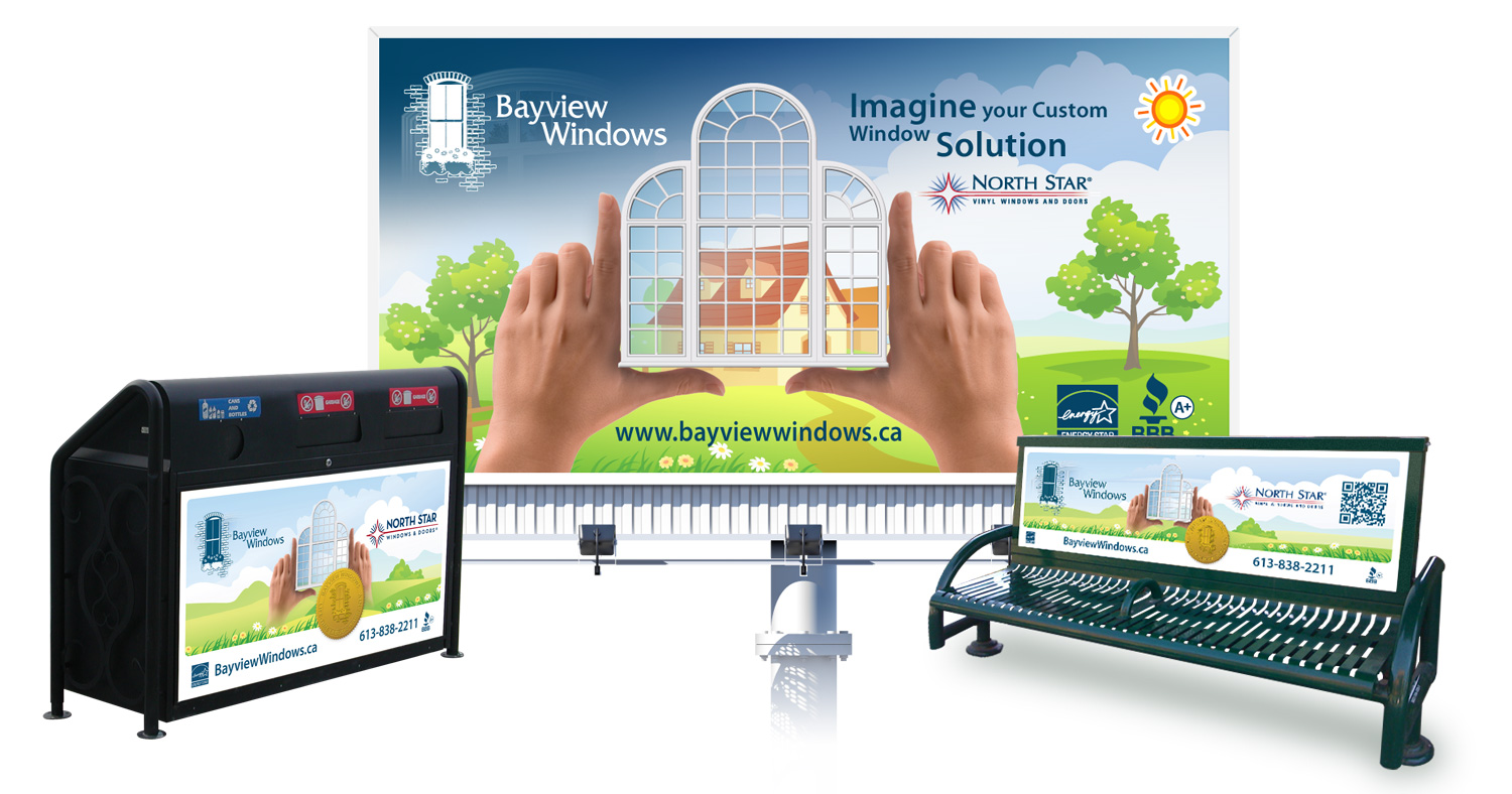 Ottawa Graphics - Billboard art - Bayview Windows