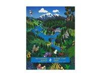 Ottawa Illustration - acrylic - Canadian Forestry Association
